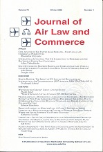 Journal of Air Law and Commerce